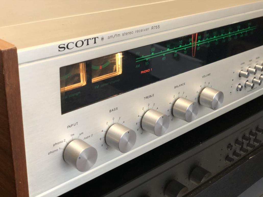 H.H. Scott R75S Vintage Audio Repair 118