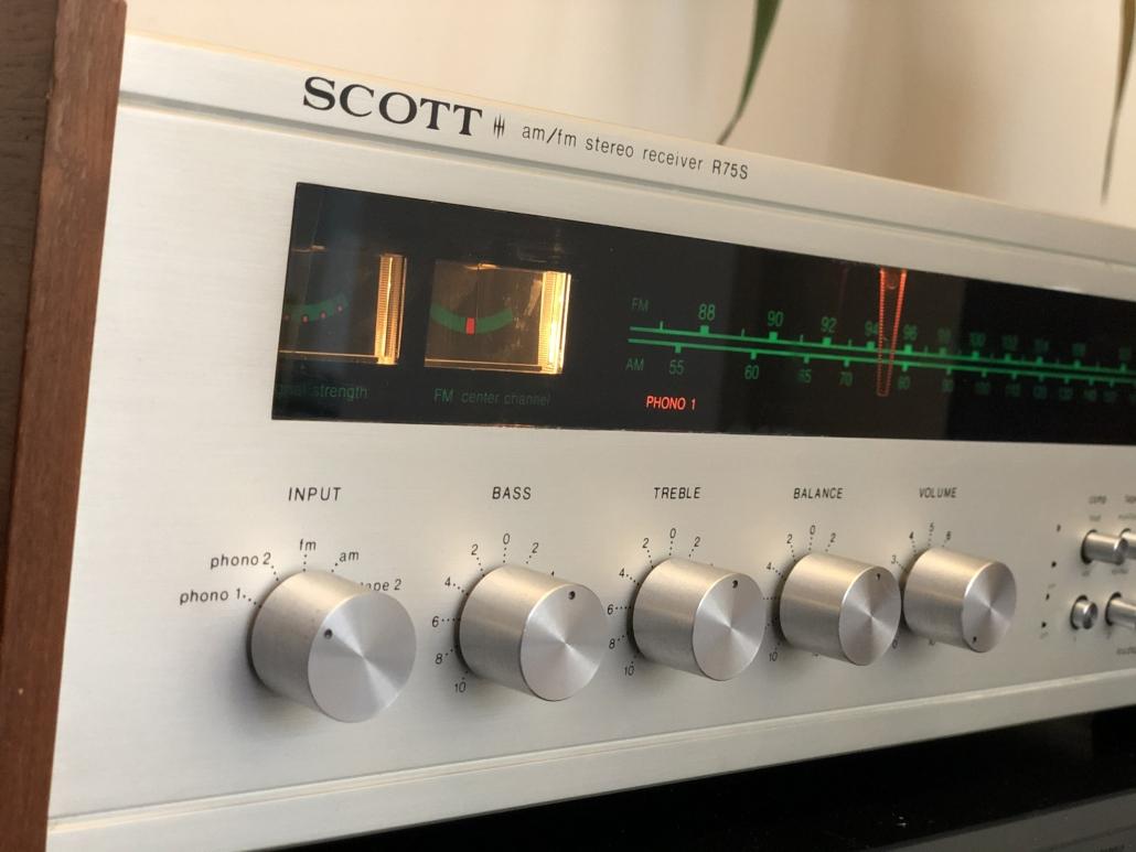 H.H. Scott R75S Vintage Audio Repair 119
