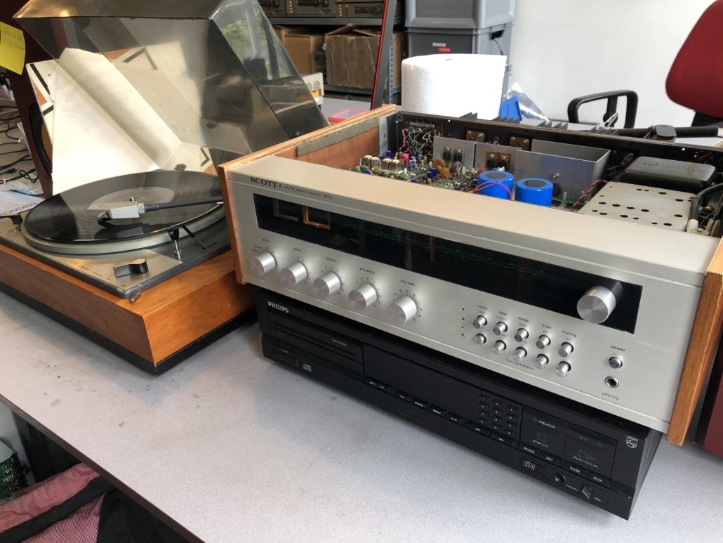 H.H. Scott R75S Vintage Audio Repair 12 1