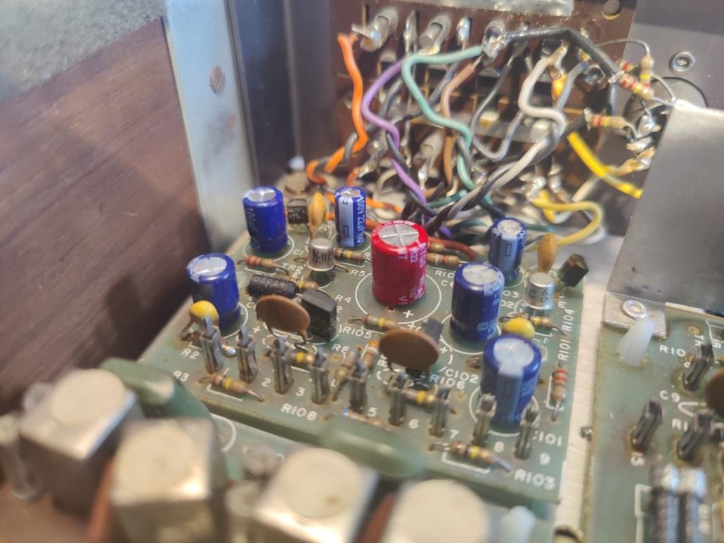 H.H. Scott R75S Vintage Audio Repair 12