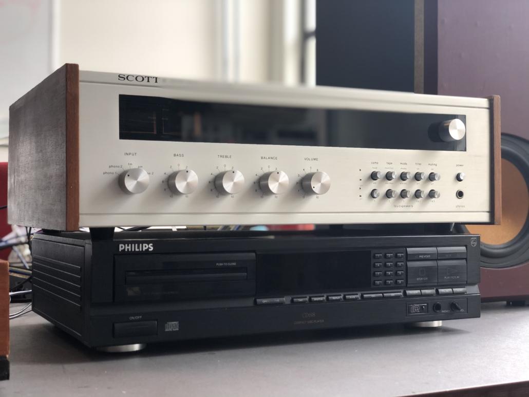 H.H. Scott R75S Vintage Audio Repair 15 1