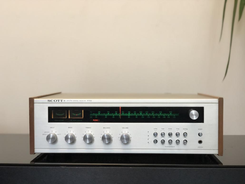 H.H. Scott R75S Vintage Audio Repair 18