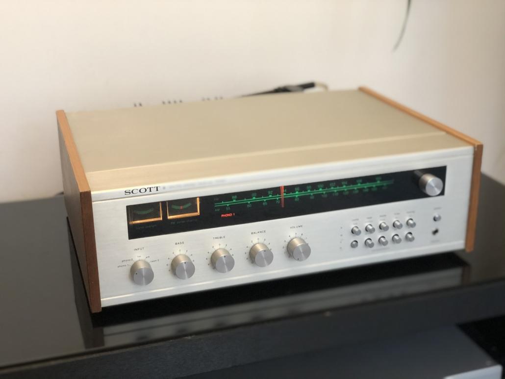 H.H. Scott R75S Vintage Audio Repair 19
