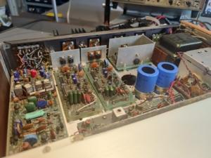 H.H. Scott R75S Vintage Audio Repair 3