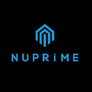 Nuprime logo blue rect
