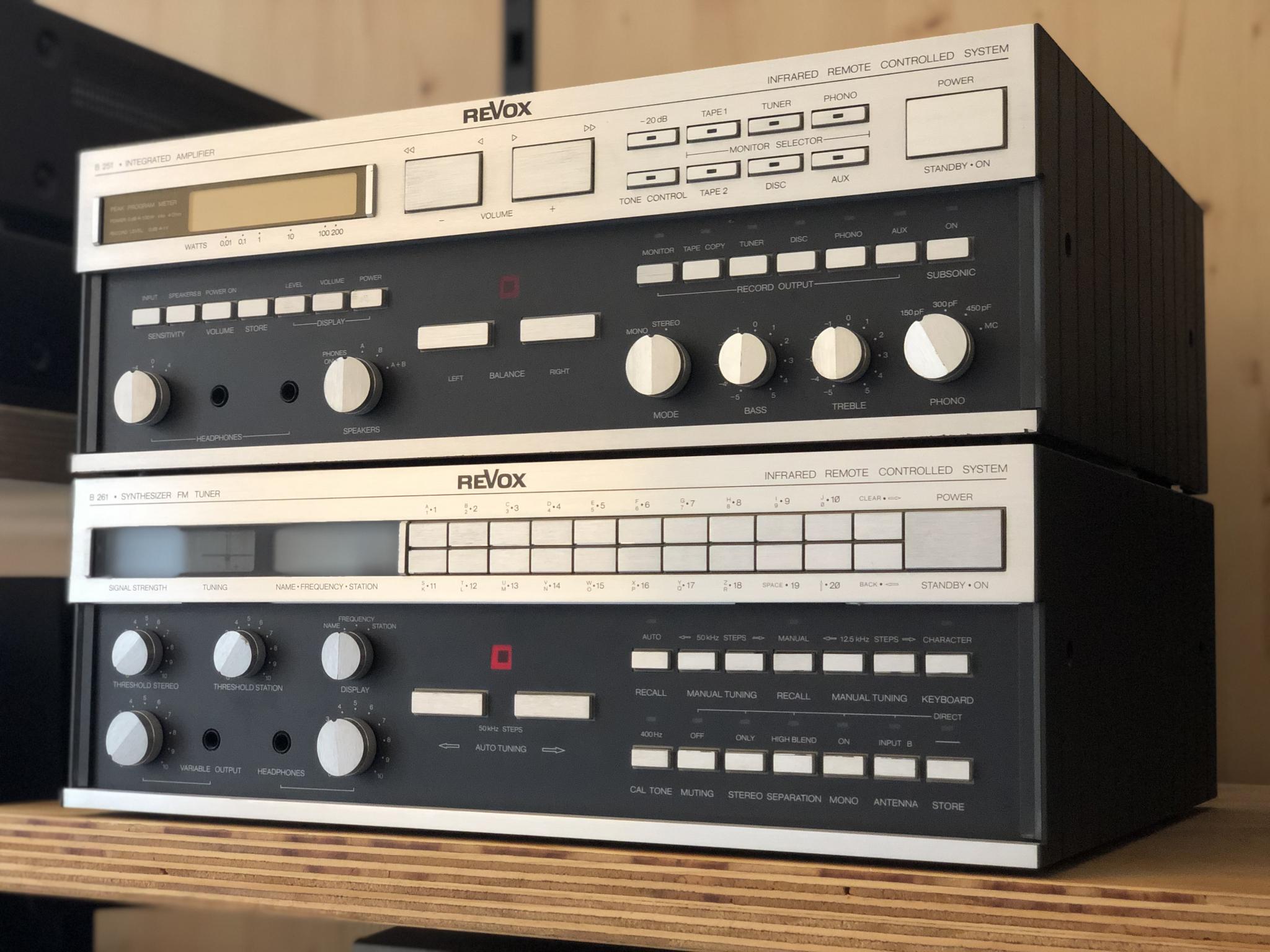 Revox B251 en B261 Vintage Audio Repair 10