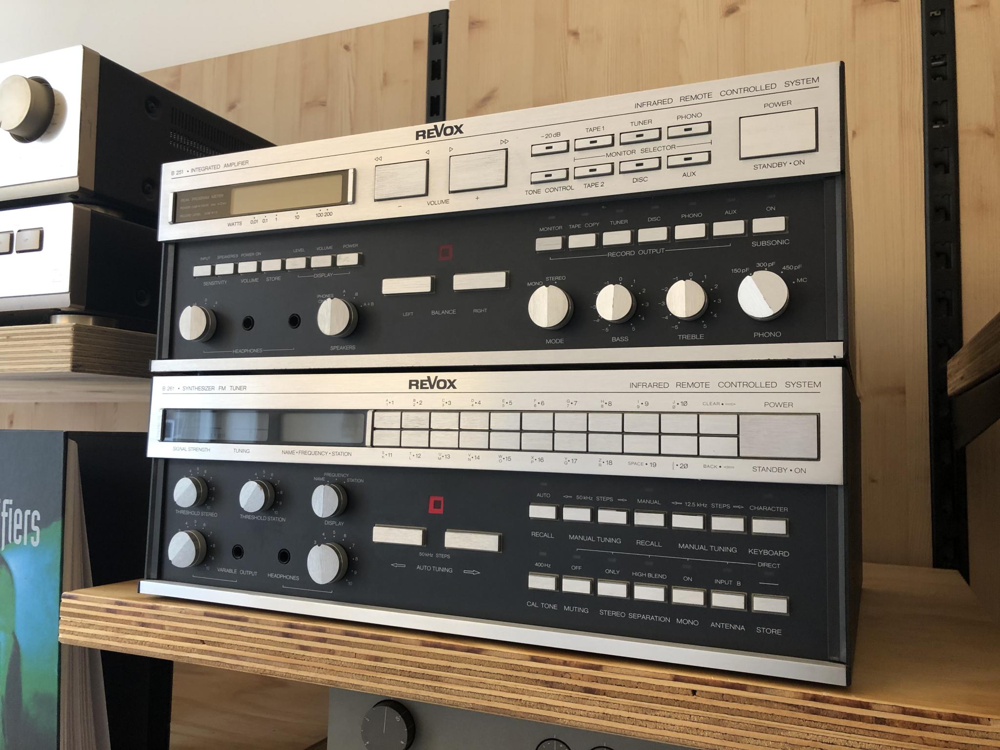 Revox B251 en B261 Vintage Audio Repair 11