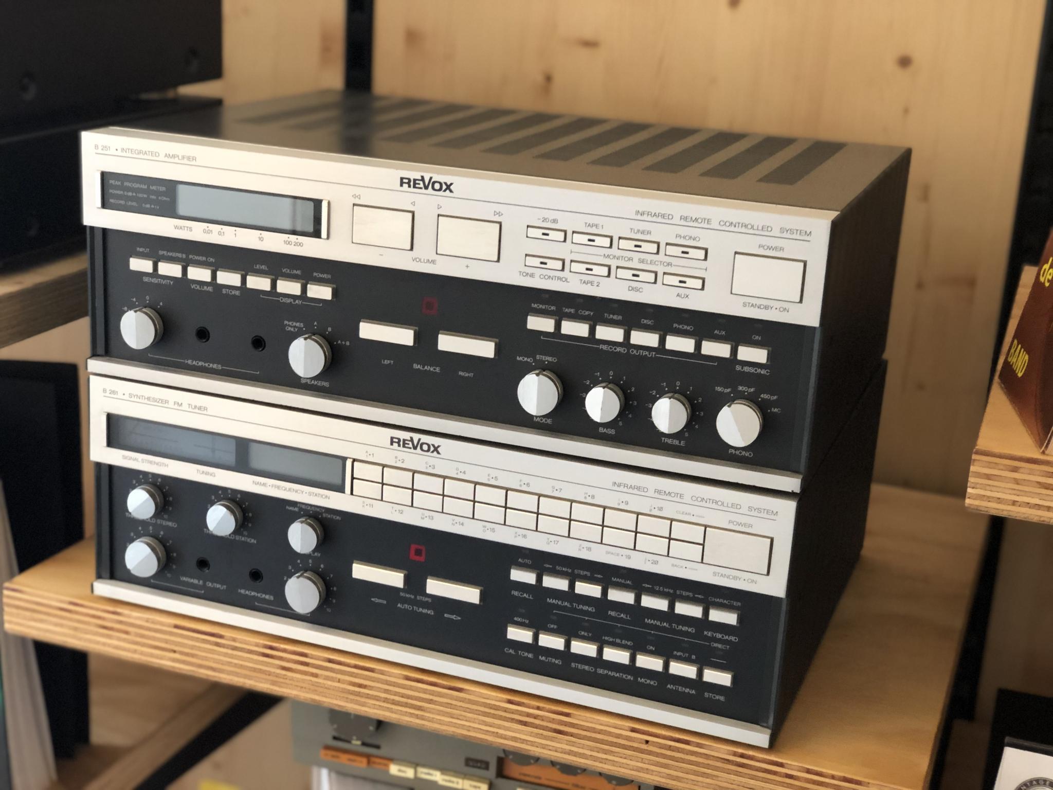 Revox B251 en B261 Vintage Audio Repair 12
