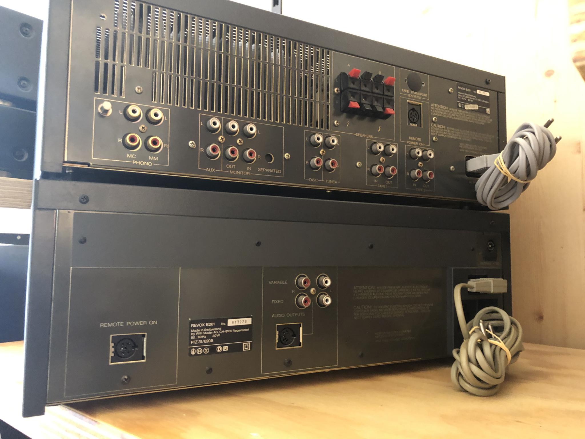 Revox B251 en B261 Vintage Audio Repair 15