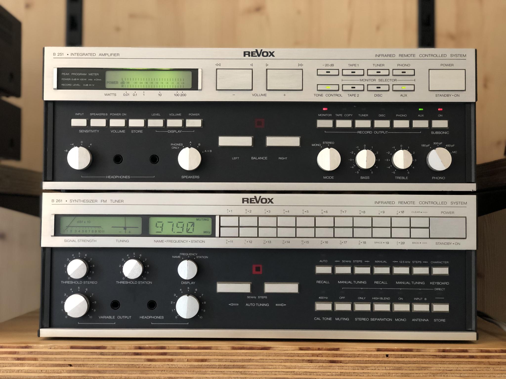 Revox B251 en B261 Vintage Audio Repair 16