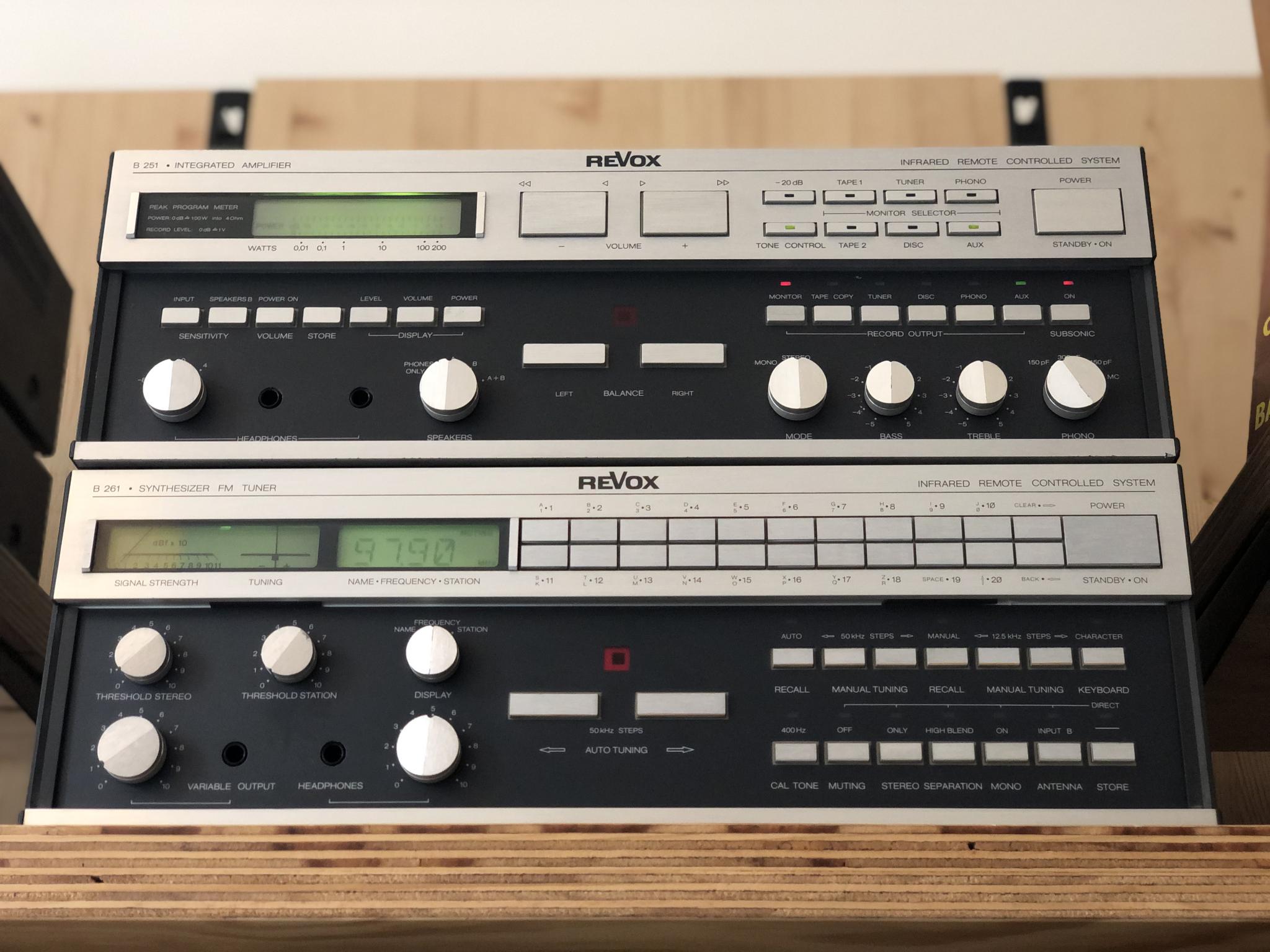 Revox B251 en B261 Vintage Audio Repair 18