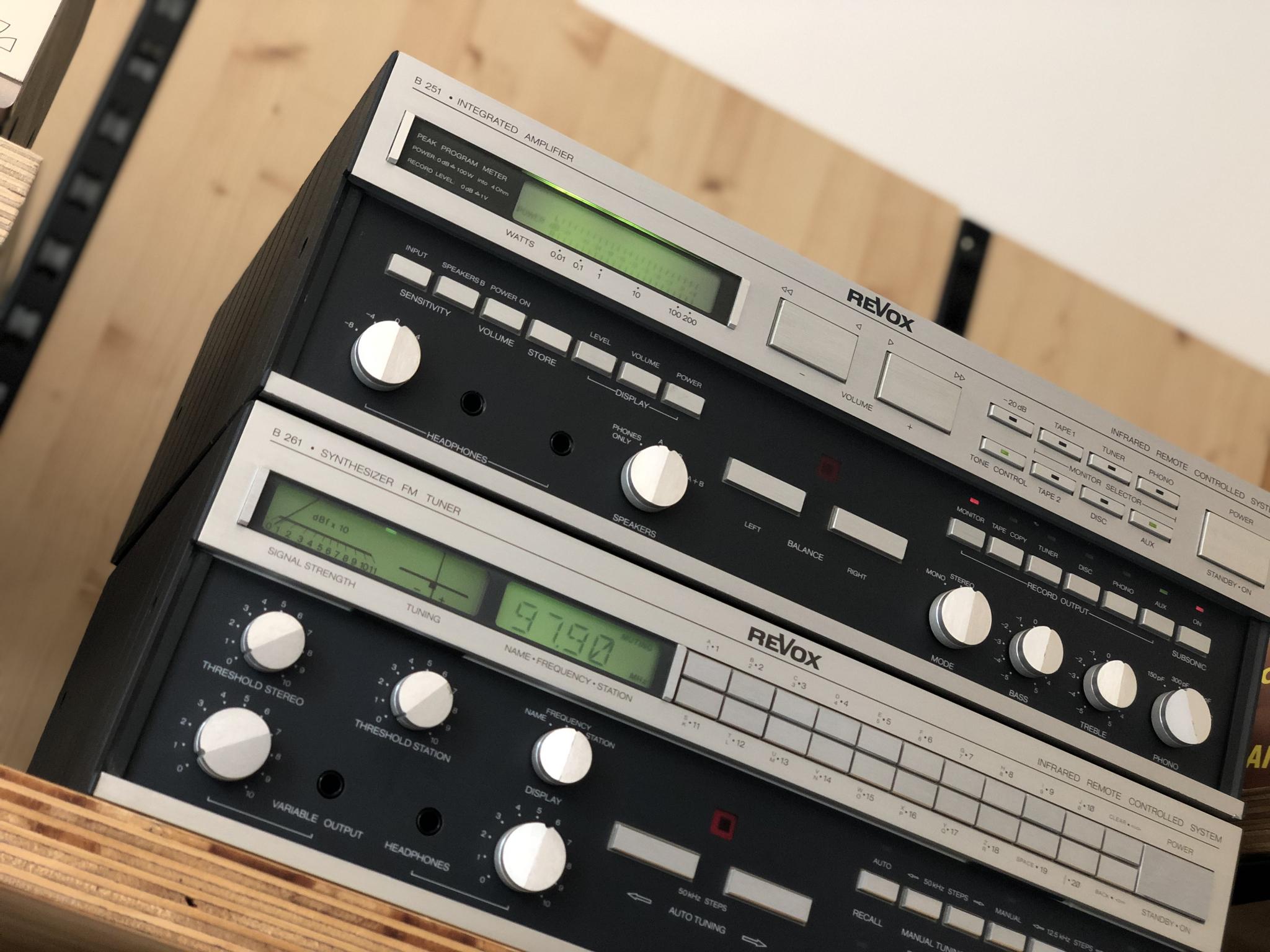 Revox B251 en B261 Vintage Audio Repair 19
