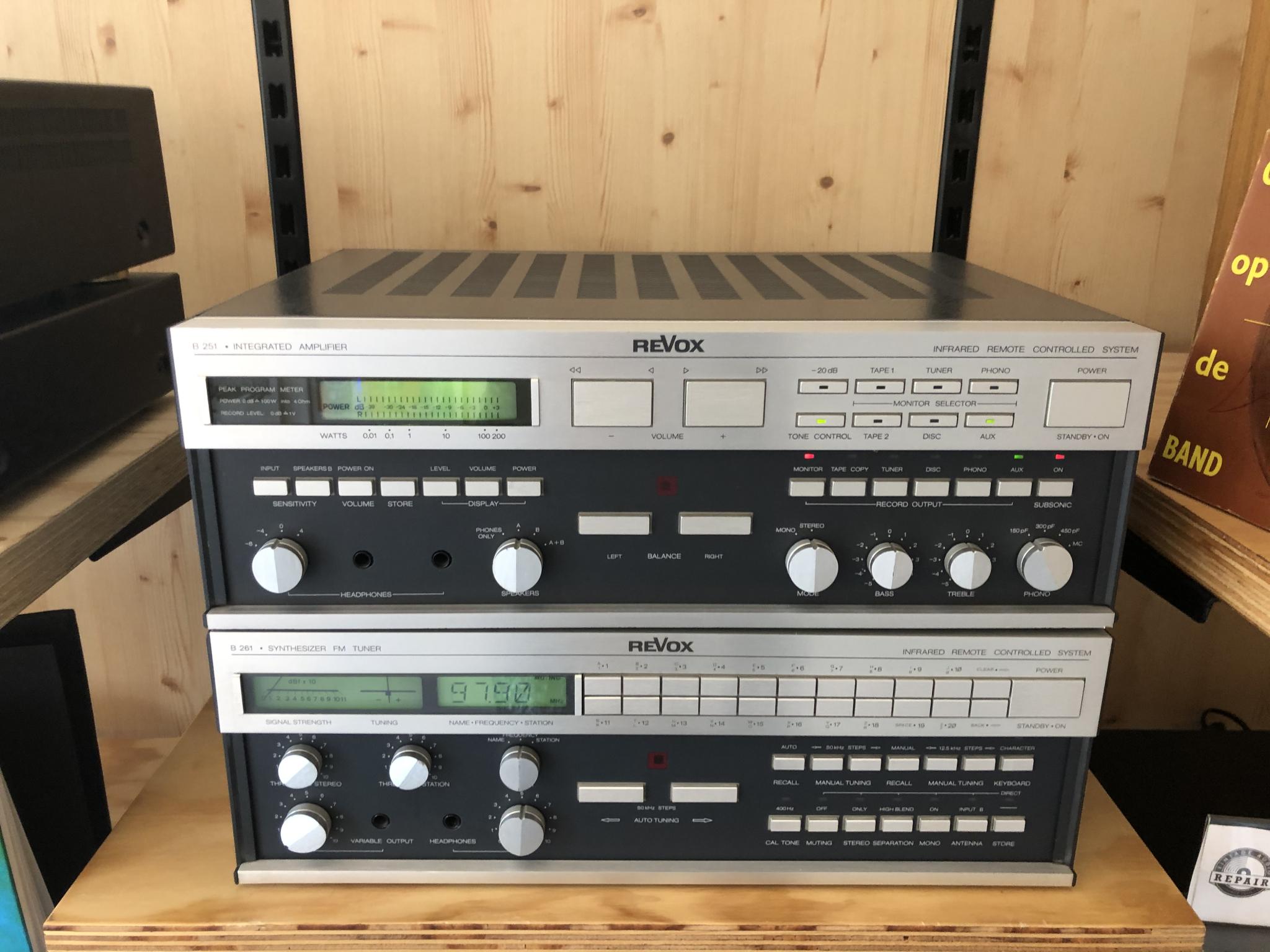 Revox B251 en B261 Vintage Audio Repair 20