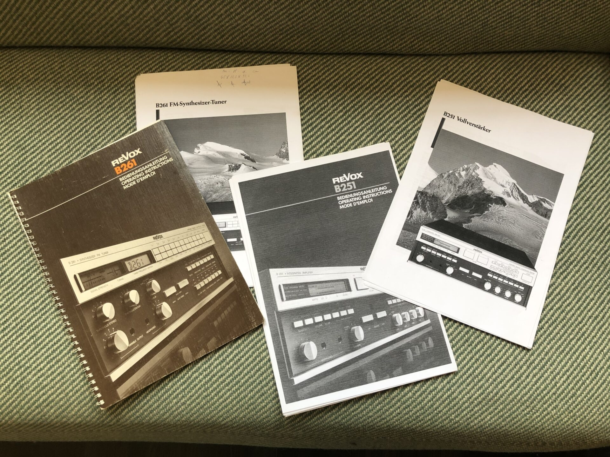 Revox B251 en B261 Vintage Audio Repair 21