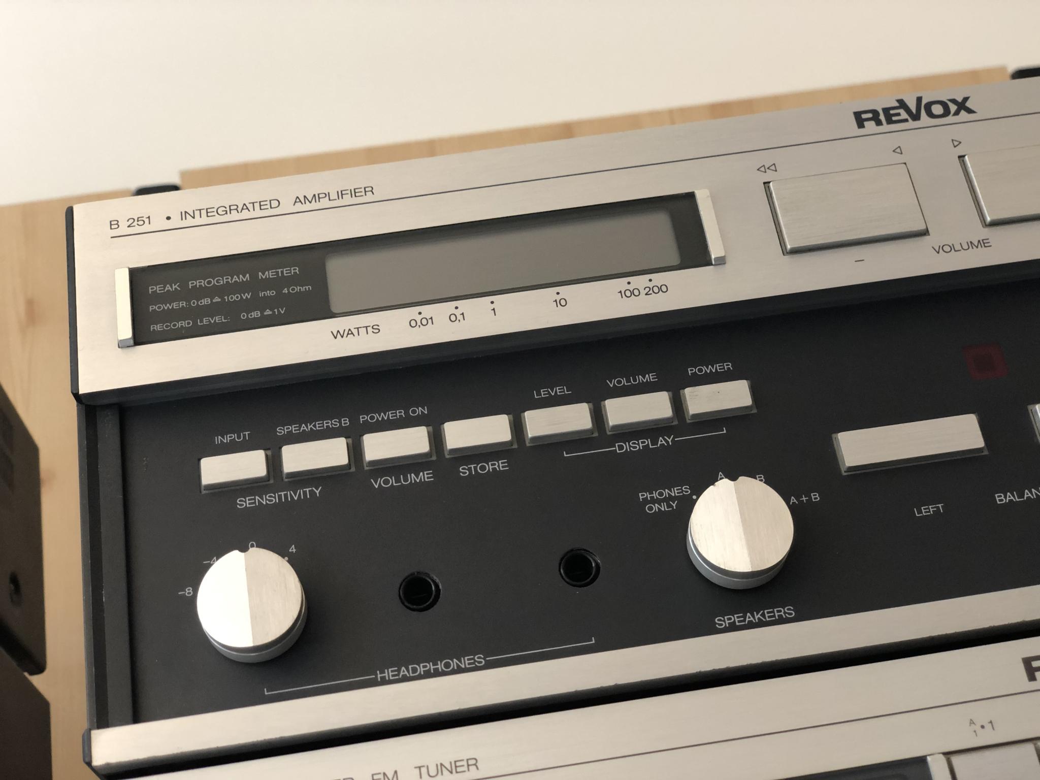 Revox B251 en B261 Vintage Audio Repair 4