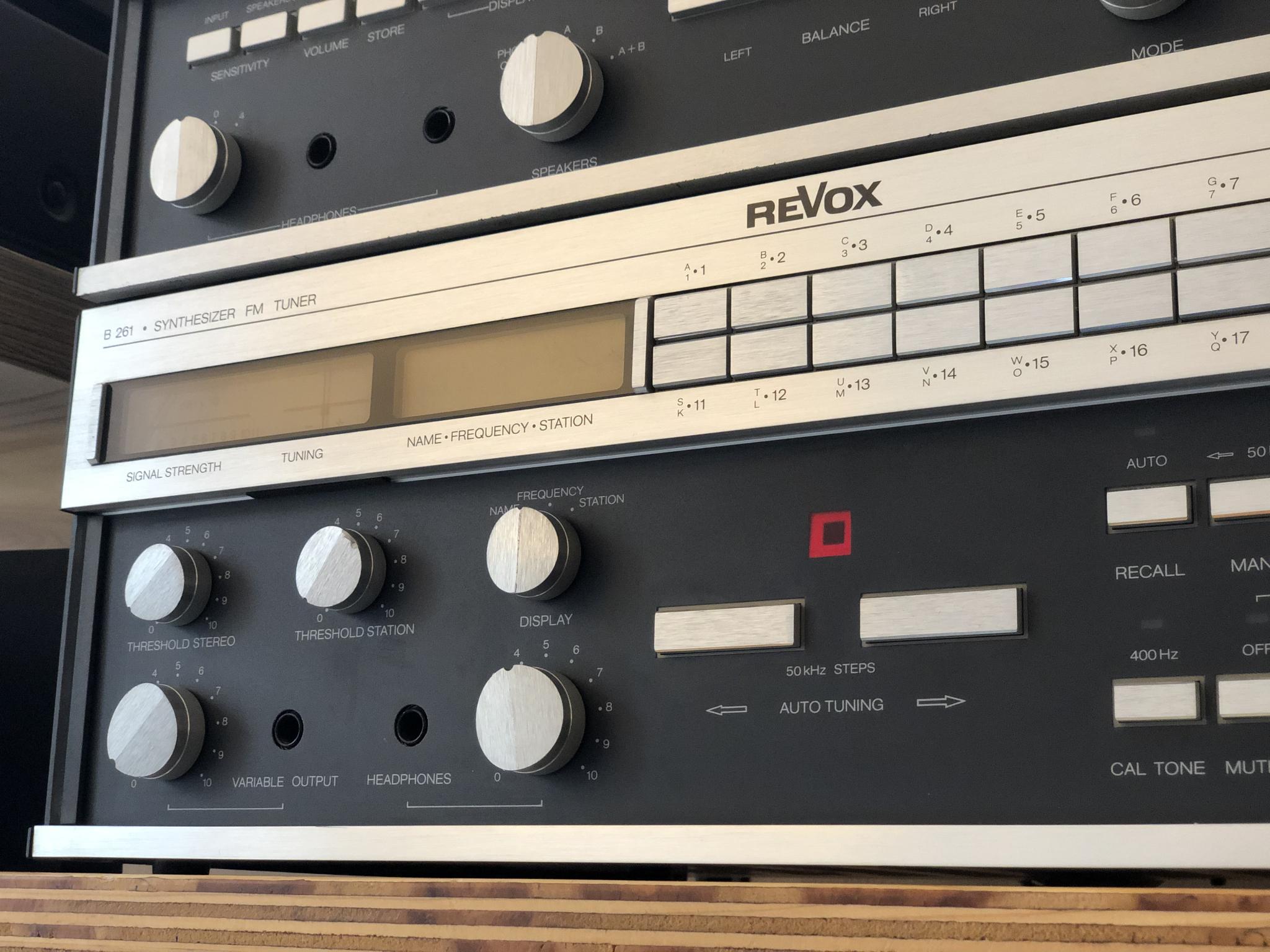 Revox B251 en B261 Vintage Audio Repair 7