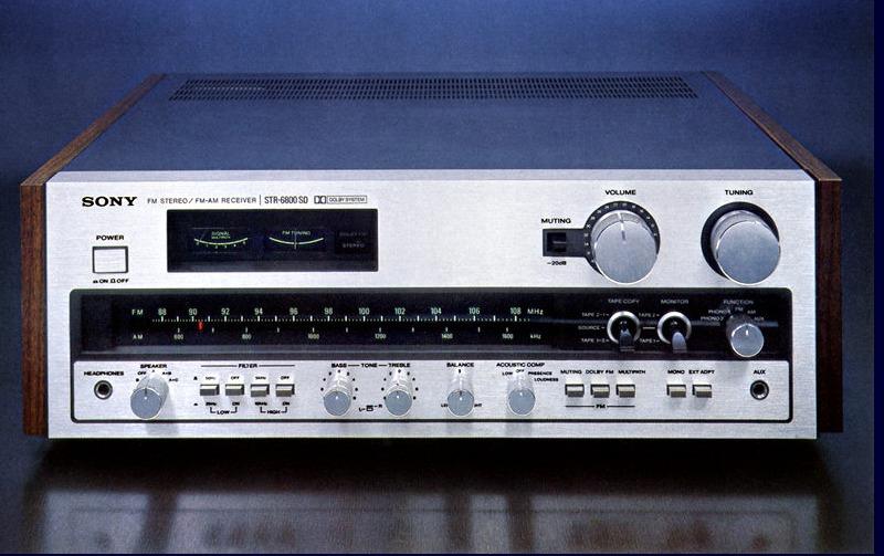 Sony STR6800SD Vintage Audio Repair 1