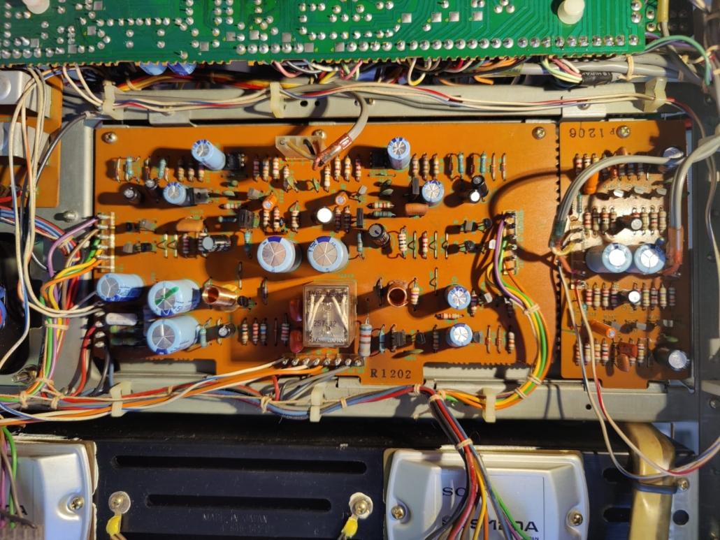 Sony STR6800SD Vintage Audio Repair 2