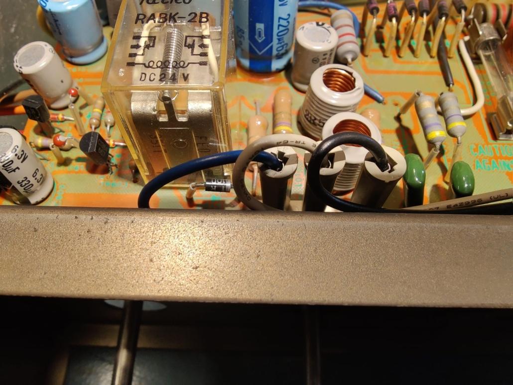 Sony STR6800SD Vintage Audio Repair 4