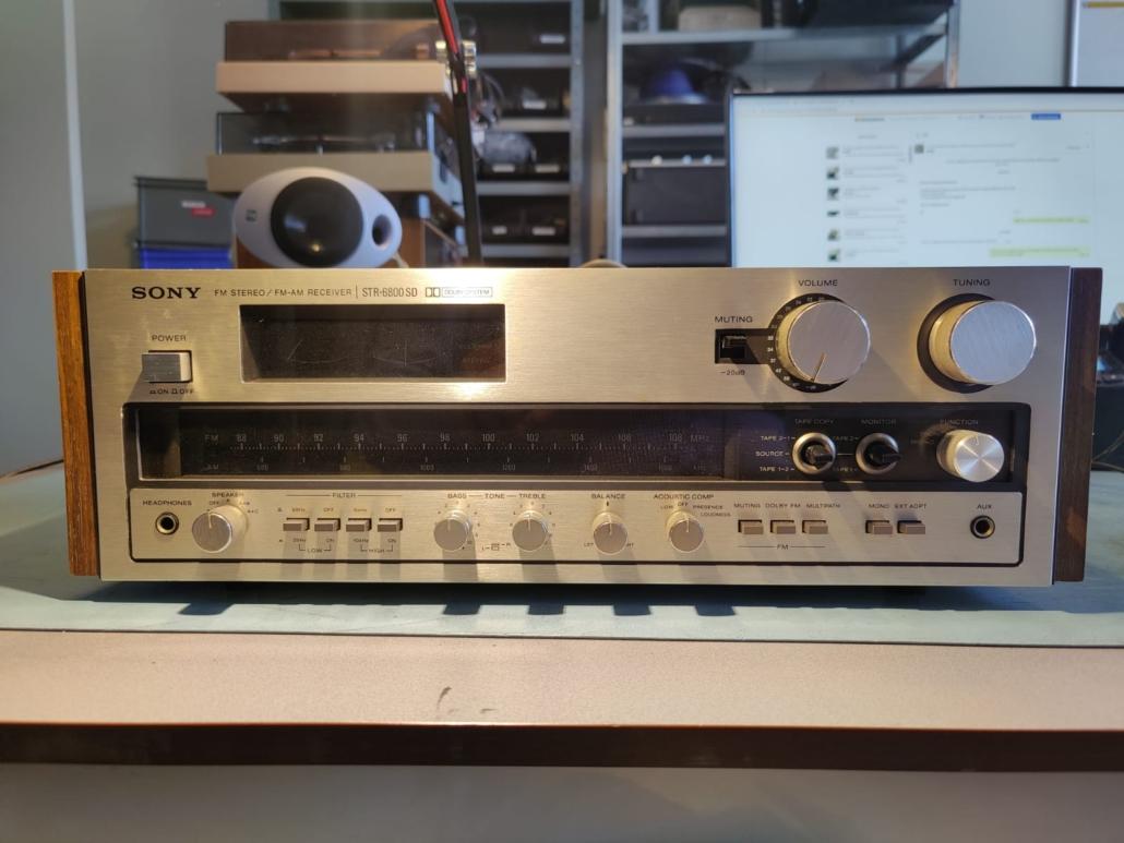 Sony STR6800SD Vintage Audio Repair 8