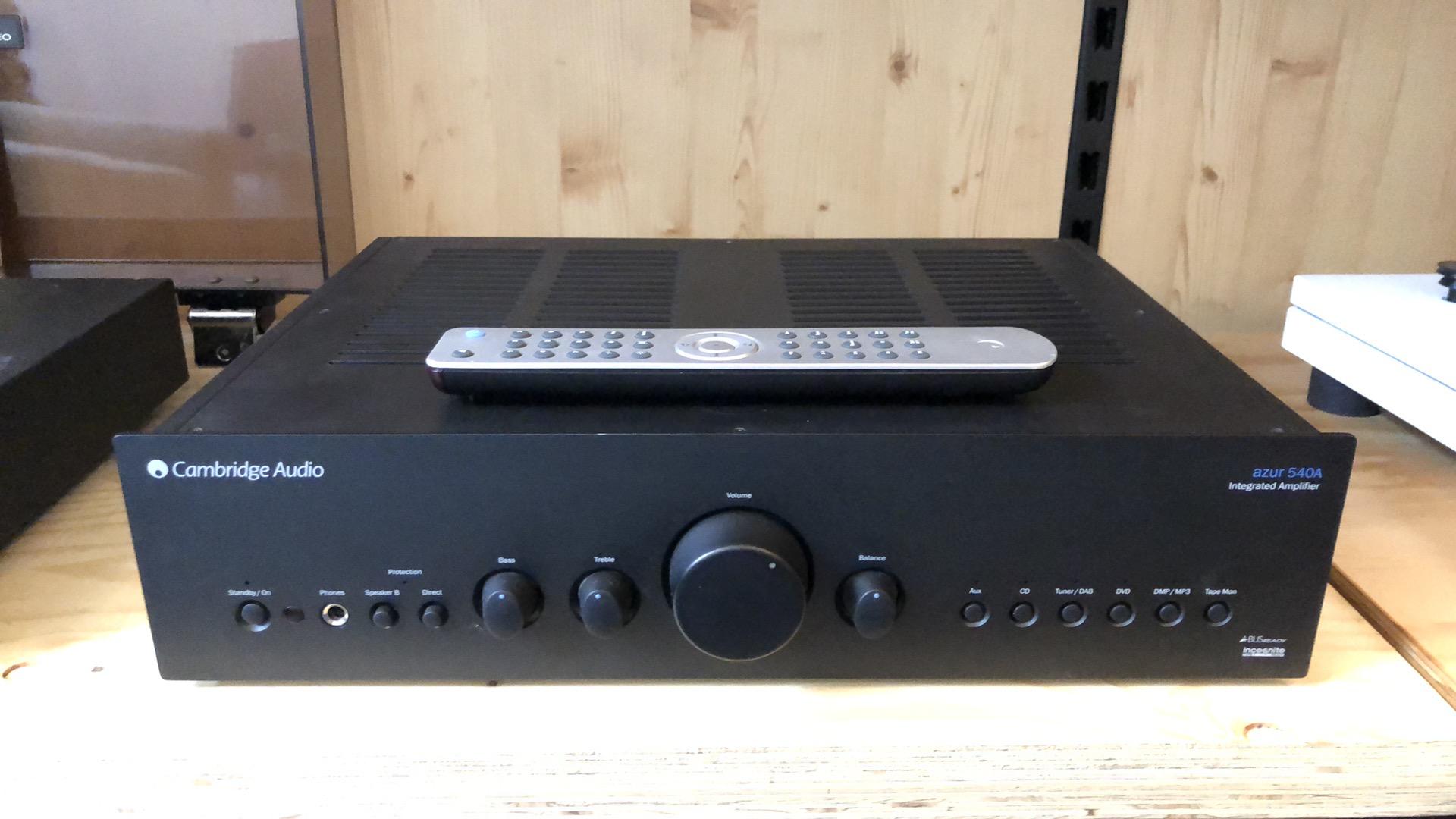 Cambridge Audio Azur 540A versterker incl AB ACTIE 2