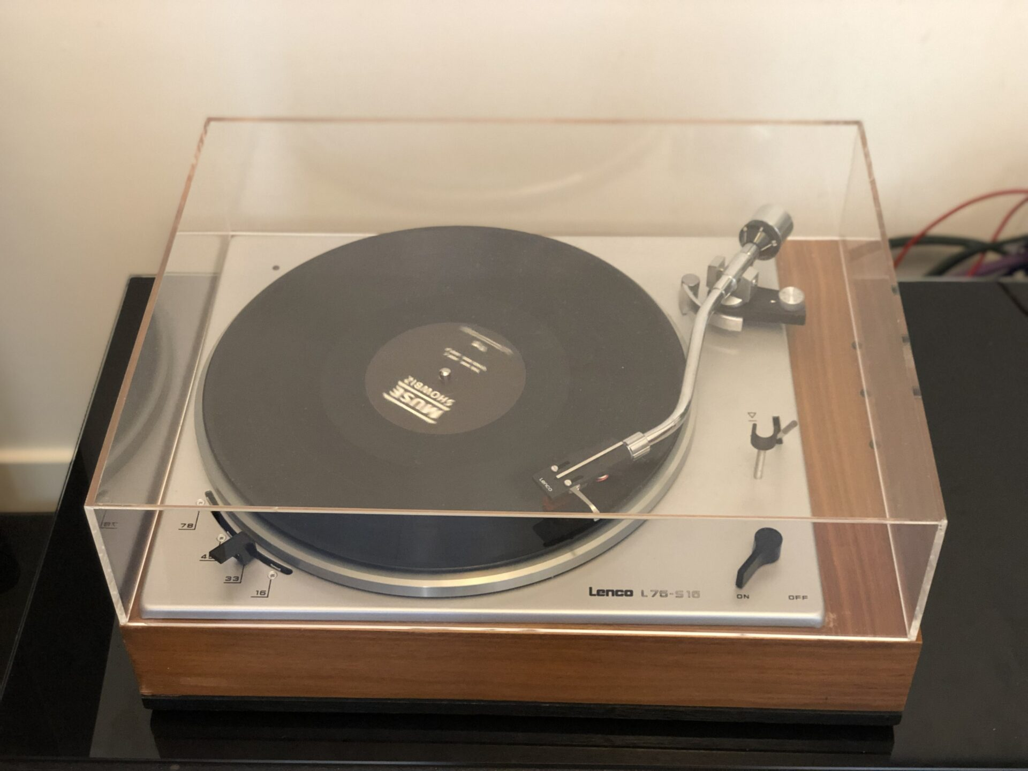 Lenco L75S16 Vintage Audio Repair 8