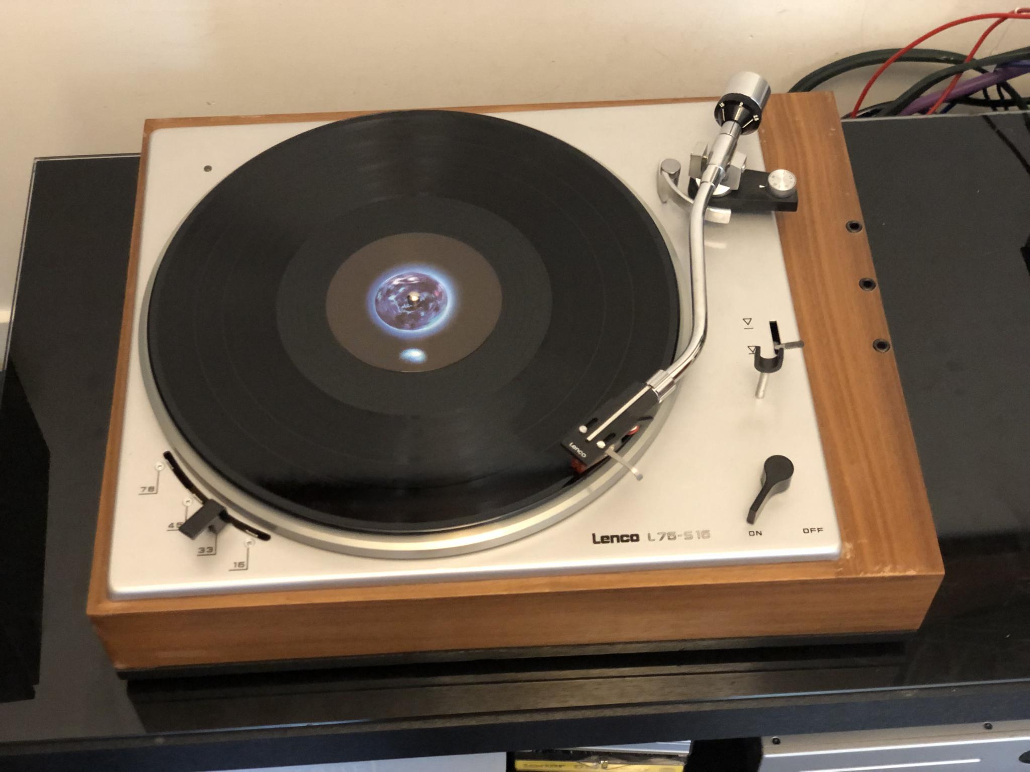 Lenco L75S16 Vintage Audio Repair 9