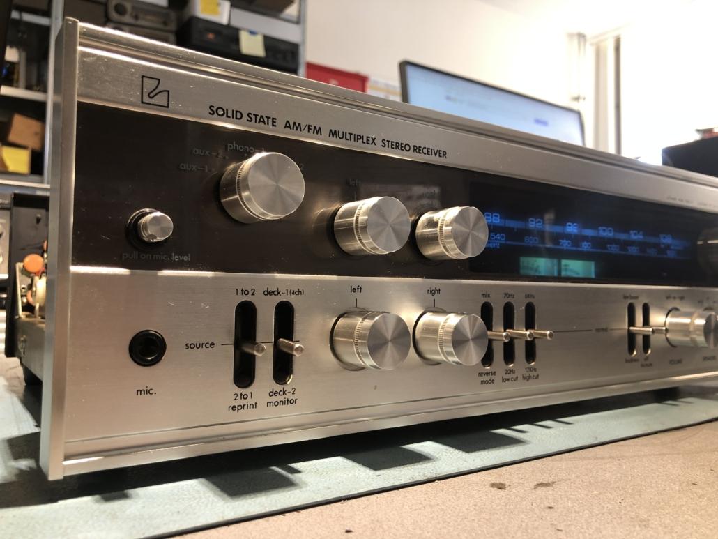 Luxman R 800s Vintage Audio Repair 1