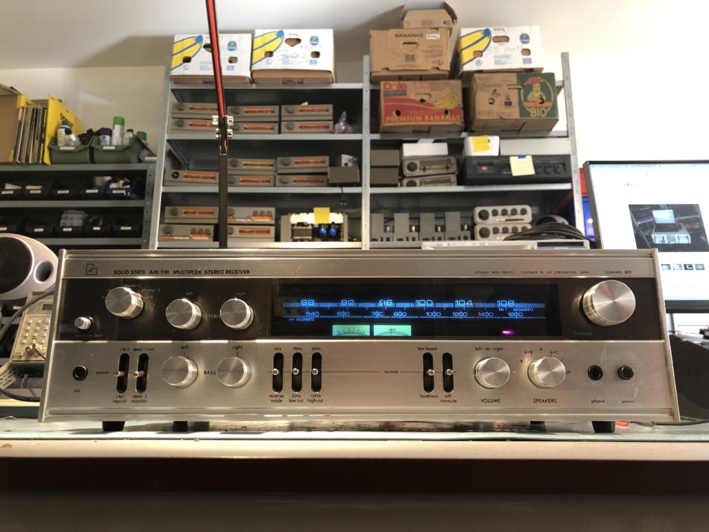 Luxman R 800s Vintage Audio Repair 10