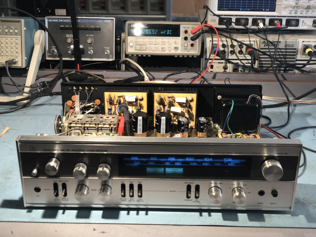 Luxman R 800s Vintage Audio Repair 12