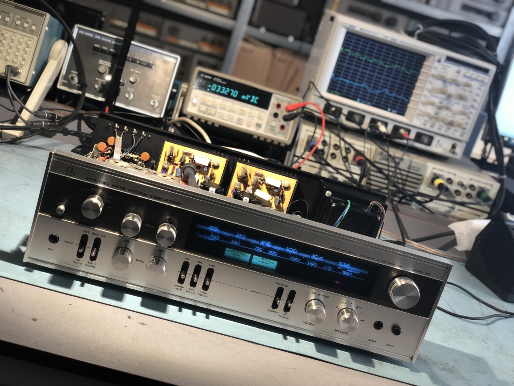 Luxman R 800s Vintage Audio Repair 13
