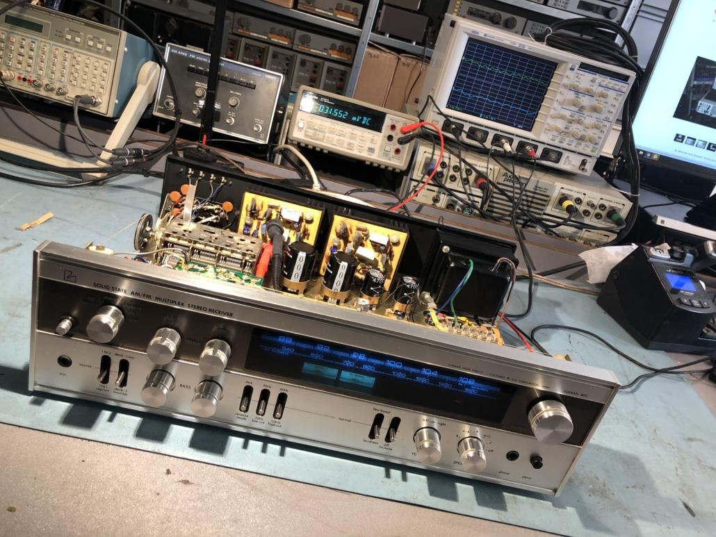 Luxman R 800s Vintage Audio Repair 14