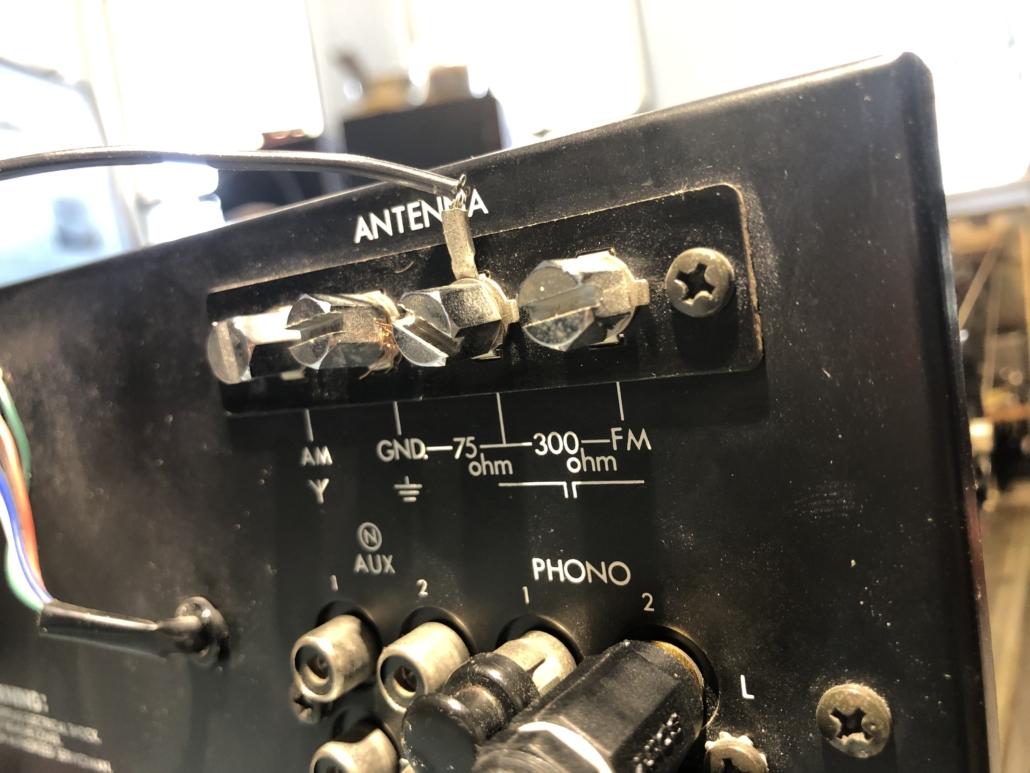 Luxman R 800s Vintage Audio Repair 15