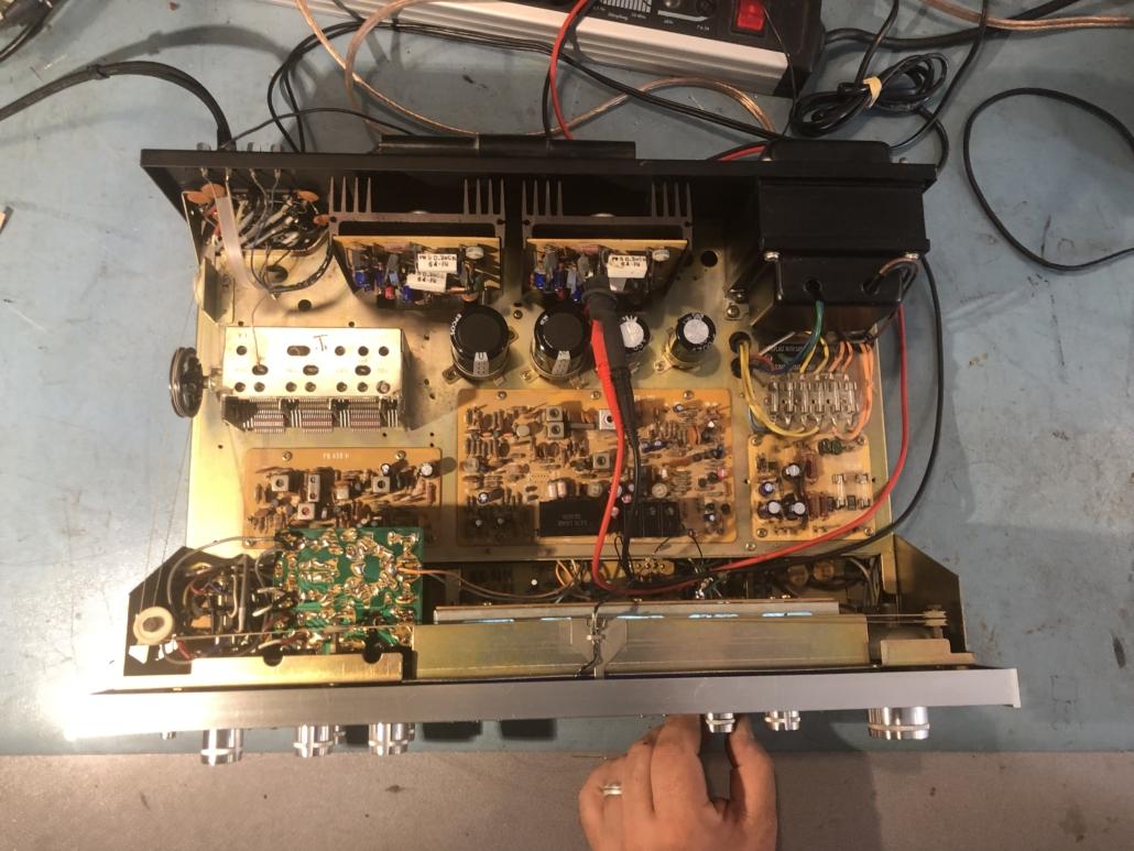 Luxman R 800s Vintage Audio Repair 17