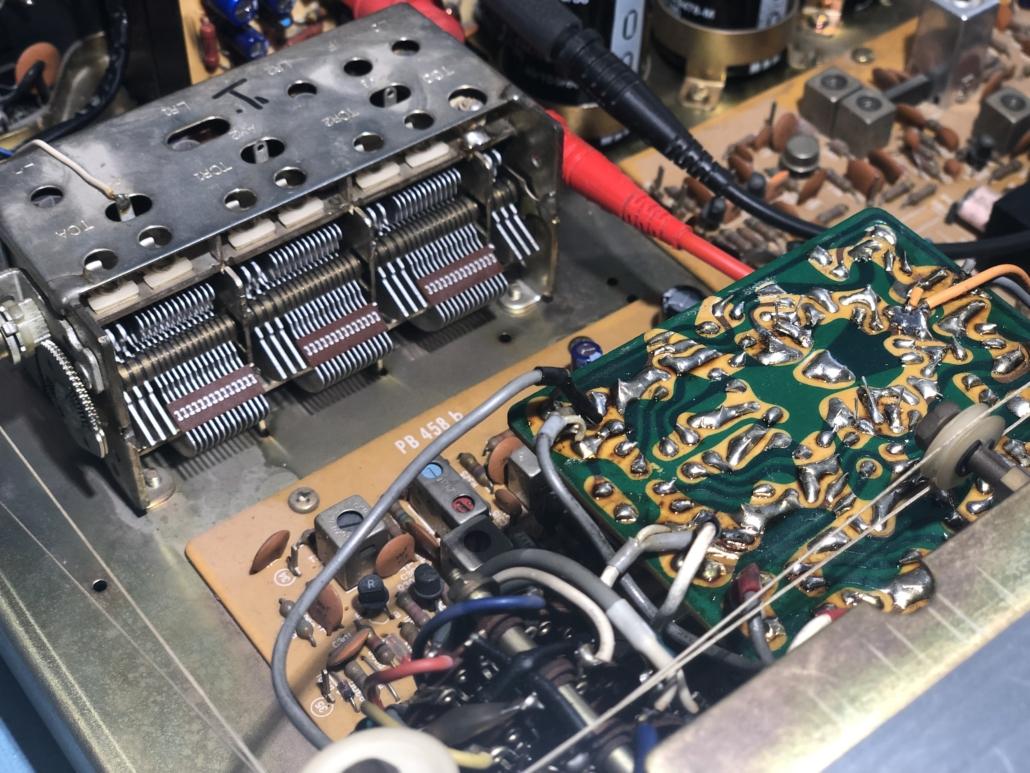 Luxman R 800s Vintage Audio Repair 2
