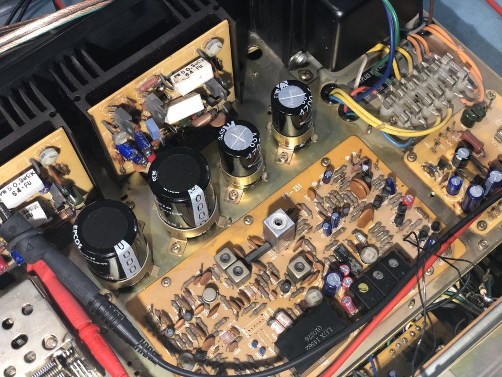 Luxman R 800s Vintage Audio Repair 3