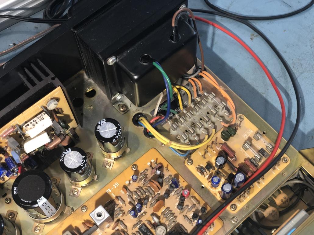 Luxman R 800s Vintage Audio Repair 4