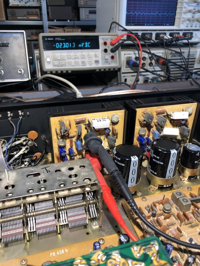 Luxman R 800s Vintage Audio Repair 5