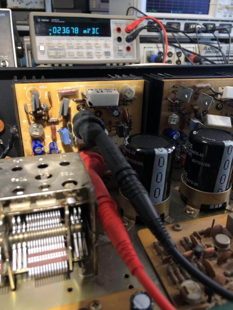 Luxman R 800s Vintage Audio Repair 6