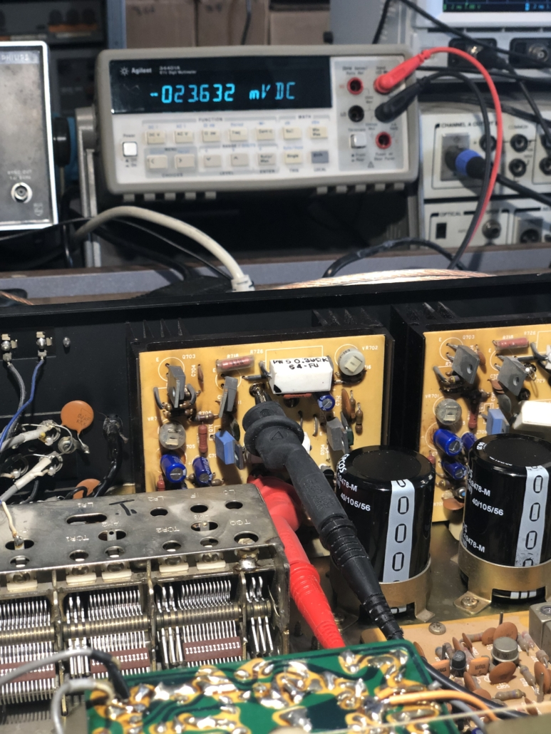 Luxman R 800s Vintage Audio Repair 7