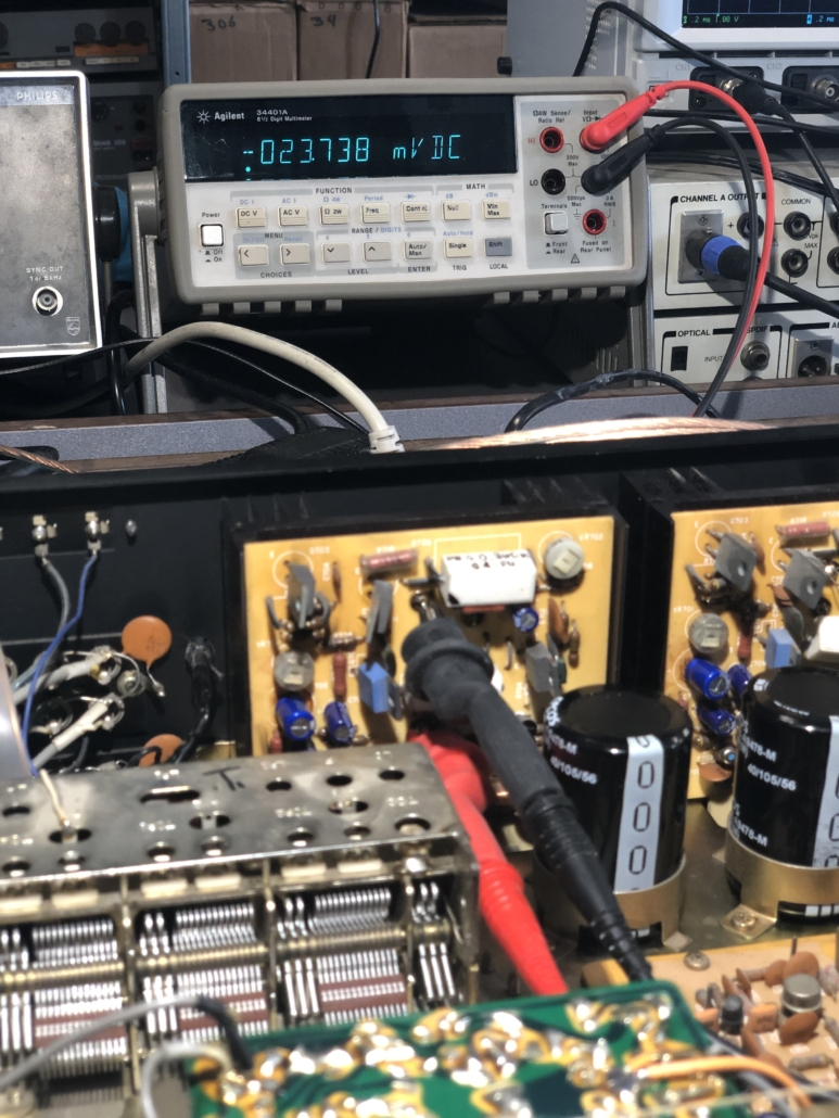 Luxman R 800s Vintage Audio Repair 8