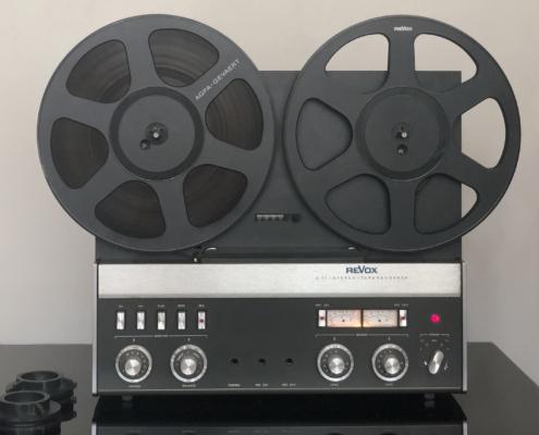 Revox A77 2track Vintage Audio Repair front19