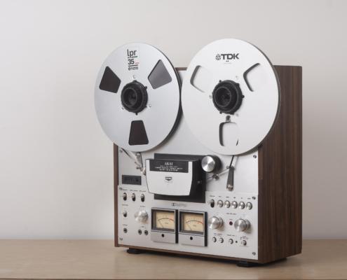 Akai GX630DB vintage audio repair6