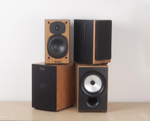 Tannoy M1 KEF Q15 samen Vintage Audio Repair 1